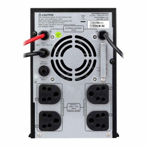 APC Back-UPS 1000VA Without Battery with Selectable Charger and Flooded/SMF compatible | BX1000UXI | 12V VDC